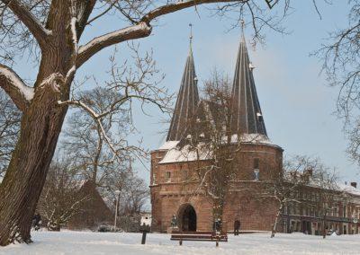 Sneeuw Kampen