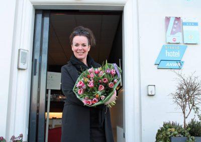 collega Marleen 10 jaar in dienst